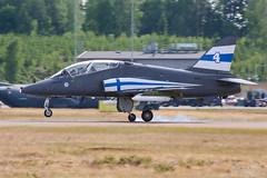 HW-353 Finnish Air Force British Aerospace Hawk Mk51A, EFJY, Finland (Sebastian Viinikainen.) Tags: hw353 finnishairforce hawk britishaerospace mk51 efjy finland airshow tikkakoski