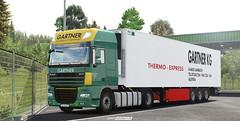 Gartner KG combo completed [ETS2] (gripshotz) Tags: daf xf 105 kogel cool trailer gartner kg skin euro truck simulator ets 2
