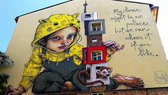 Berlin 2018.06.08. Mural 6.2 - Artists HERAKUT, Germany, 2018 (Rainer Pidun) Tags: mural streetart urbanart publicart berlin