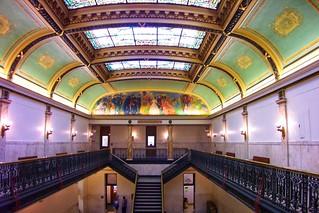 Des Moines Iowa -  Iowa State Capitol - Atrium Wing
