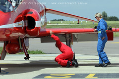 0326 R2 C1 (photozone72) Tags: raf redarrows reds redwhiteblue aviation aircraft norwichairport norwich canon canon7dmk2 canon100400f4556lii 7dmk2 blues circusatwork groundcrew groundshots red2