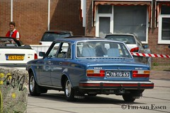 Volvo 264 GLE - 1977 (timvanessen) Tags: 78tg65 automatic automaat aut youngtimer event 2018 amsterdam
