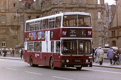 LOTHIAN REGIONAL TRANSPORT 843 J843TSC (bobbyblack51) Tags: lothian regional transport 843 j843tsc leyland olympian alexander rh edinburgh 1995