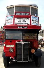 Thomas Tillings AEC Regent 6098 Brooklands 24/06/18. (Ledlon89) Tags: aec bus buses london transport lt lte lptb tillings tilling londonbus londonbuses londontransport vintagebuses weybridge brooklands londonbusmuseum lbpt