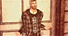 What? (Toby ~) Tags: secondlife smoking emotion