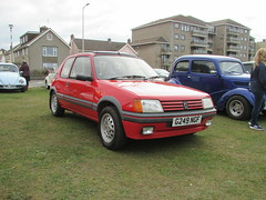 Peugeot 205 GTi 1.6 G249NGF (Andrew 2.8i) Tags: weston westonsupermare car classic classics show cars meet french hot hatch hatchback 1600 gti gt 16 205 peugeot