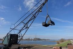 Rijn op grens nederland duitsland (JANKUIT) Tags: nederland gelderland spijk rijn grens duitsland