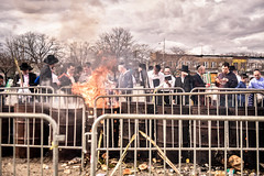 LDS_2857 (Baltimore Jewish Times) Tags: chometz chametz burning passover pesach pimlico baltimore orthodox judaism