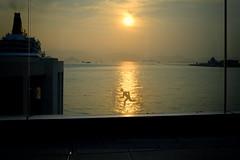Hong Kong, Running At Sunset (Edas Wong) Tags: edaswong snapshot hongkong surreal streetphotography streetphotographer contemporary