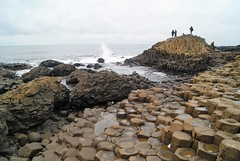 DSC02201 (margaret.metzler) Tags: northernireland coast ocean giantscauseway sea stone rock waves 2017