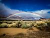 Turtle Creek Road Double Rainbow (halladaybill) Tags: alabamahills rainbow turtlecreekroad lonepine seaandsageaudubonsociety mountains spectrum easternsierras inyocounty california