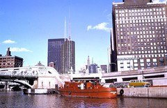 Chicago River (moacirdsp) Tags: view from chicago river cook county illinois usa 1973