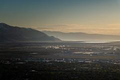 Quintessential (joshhansenmillenium) Tags: nikon nikond5500 d5500 tamron tamron18200 sunset sunsets sunsetnerd saltlakecity salt lake city antelope island utah hiking great airplane cloudscape mountains