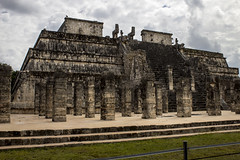 IMG_2816_1 (avolanti) Tags: chichenitza mayan ruins pyramids pyramid mexico yucatan travel beautiful vacation wanderlust wonder