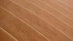escalator's broken (kestercrosberger) Tags: stairs stair lighting light shadow rim walk up sand sandstone grainy rough color colors yellow beige step steps dresden dsc rx100ii sony