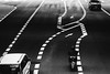 reflection (tomorca) Tags: car street bike line monochrome reflection blackandwhite fujifilm xt2