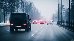 G (Lucas Gronski) Tags: mercedes mercedesbenz gclass winter cold filmgrain road highway gdańsk panasonic 425mm panasonic425f17 panasonic425mm 85mm panasonic425mm17