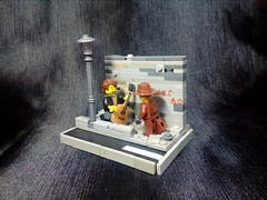 """Lego M.O.C. """"criminal district"""" (A.V.V.) Tags: lego moc criminal district"""