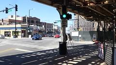 Banke's Coffee Ghost Sign - Clark & Roscoe, Chicago (Mark 2400) Tags: bankes coffee ghost sign chicago clark street roscoe cta flyover demolition