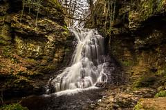 Hareshaw Linn Waterfall • Northumberland National Park (Ian Emerson) Tags: water waterfall river rocky rocks northumberland outdoor hoya longexposure canon peaceful