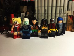 Moose To Pay (Lord Allo) Tags: lego dc suicide squad hell pay harley quinn killer frost copperhead bronze tiger deadshot captain boomerang