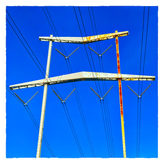 Blue Sky (Timothy Valentine) Tags: rust 2018 telegraphtuesday large sky square blue 0418 eastbridgewater massachusetts unitedstates us
