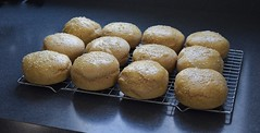 Buns Are Done (Warming Up Again :)) Tags: theflickrlounge wk15 happy buns baking spelt totallymadefromscratch