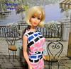 Vintage Mod Blonde Hair Fair Barbie (The doll keeper) Tags: vintage mod hair hairfair fair blonde barbie doll print a plenty