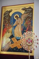 17. Пасхальная вечерня в соборе г. Святогорска 08.04.2018 г
