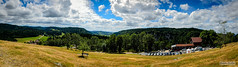 AAC_8218-Panorama_watermarked (Quentin CUVELIER) Tags: base chã¢teaudejoux continentsetpays d7000 doubs europe fr fra fortdejoux france franchecomte franã§ais french joux nikon nikonlens objectifnikon photo photographie photography quentincuvelier castle