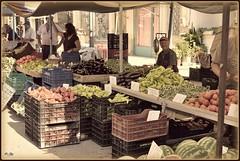 • Η λαϊκή αγορά ♦ El mercadillo • (jose luis naussa (+3 millones . )) Tags: πολύγυροσ χαλκιδική costumbres mercado