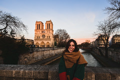 Happy Dame (Amely Call) Tags: amelycallewaert amely callewaert photography paris notre dame nikon nikond7200 winter