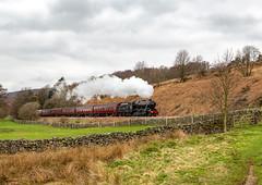 The Whitby Flyer 14-4-2018 (KS Railway Gallery) Tags: whitby flyer railtour uk steam 48151 park end