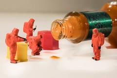 HOT TOBASCO (photo.bymau) Tags: bymau canon 5d macro proxy monday mondays macromondays condiment studio red preiser little people tobasco