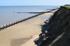 DSC_0307 (.Martin.) Tags: happisburgh coast norfolk sea seaside beach coastal erosion cliff cliffs cley sand rock
