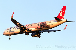 TC-JTP Turkish Airlines year of Troy A321-200 London Heathrow Airport