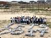 IMG_0308 (Let's Do It World) Tags: beach cleanup letsdoit letsdoitworld trashbags groupofpeople tshirts trash garbage nigeria