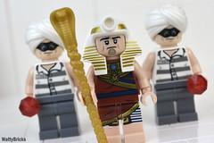 King Tut & Henchmen (WattyBricks) Tags: the lego batman movie gotham rogues gallery king tut henchmen dc comics