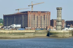 Liverpool Waterfront (Phil Beard) Tags: liverpool merseyside architecture ships tower warehouse bridge