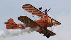 Duxford_May2018_Wingwalkers_08 (andys1616) Tags: aerosuperbatics wingwalkers boeing stearman duxfordairfestival duxford cambridgeshire may 2018