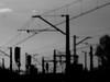 shapes (Darek Drapala) Tags: shapes silhouette silkypix shadows bw blackwhite blackandwhite railway rail railroad trains panasonic poland polska panasonicg5 urban europe industrial lumix light dark