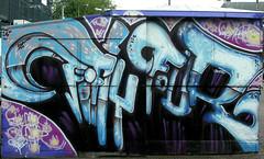 graffiti amsterdam (wojofoto) Tags: amsterdam nederland netherland holland graffiti streetart wojofoto wolfgangjosten waterlooplein fiftyfour thefiftyfour