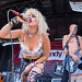 Barb Wire Dolls performing at the Vans Warped Tour in San Antonio, Texas (2017-07-29)