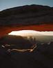 Mesa Arch (minka6) Tags: ektar kodak kodakektar100 mamiya7ii 65mmf4 utah mesaarch sunrise mediumformat film