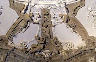 Genova, Piazza De Ferrari 4, Palazzo Doria De Fornari, Stuck (stucco) (2)