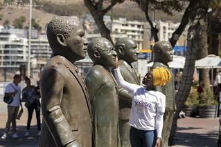 Nobel Square Statues