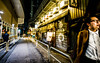 Tokyo street @ night (Phg Voyager) Tags: street japan people restaurant fish fun busy smile leica m 18mm urban streetscape face color outdoor longexposure photography phgvoyager lights lantern late night funny yellow urbanscape moving walking
