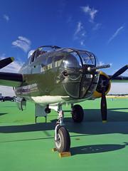 Dayton Air Show 06-24-2017 64 - B-25 Champaign Gal (David441491) Tags: northamericanb25mitchell champaigngal daytonairshow bomber pane airplane aircraft