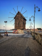 The mill, Old Nessebar, Bulgaria (nenos_79) Tags: blacksea iphonephotography bulgaria oldnesebar oldnessebar nessebar nesebar mill