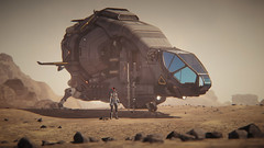 Herald on the Daymar (Corsair62) Tags: star citizen game screenshot flight space ship squadron 42 cig robert industies pc ingame shot simulator video wallpaper corsair62 photography reclaimer 4k 219 gaming image scifi foundry cloud imperium games security big bennys aegis shadow burning aurora daymar herald